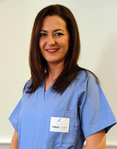 Elvira Díaz Enfermera
