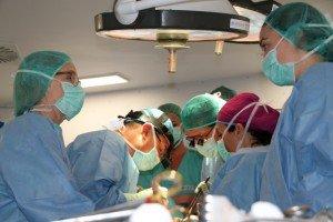 Momento de la cirugía